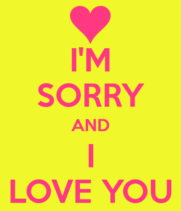 Love Wallpapers With Sorry : Sorry Wallpapers for Love - WallpaperSafari
