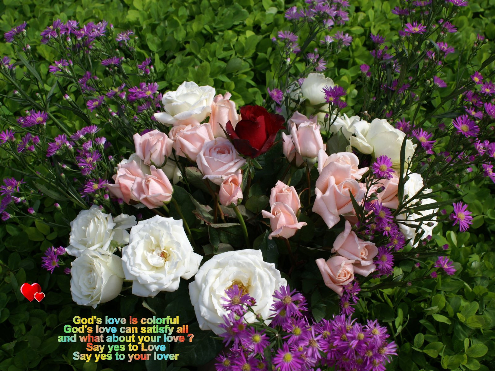 god s love is colorful god s love can satisfy all and what about your 1600x1200