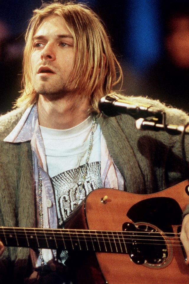 Download Wallpaper Kurt Cobain   Kurt Cobain Hd Wallpapers 640x960