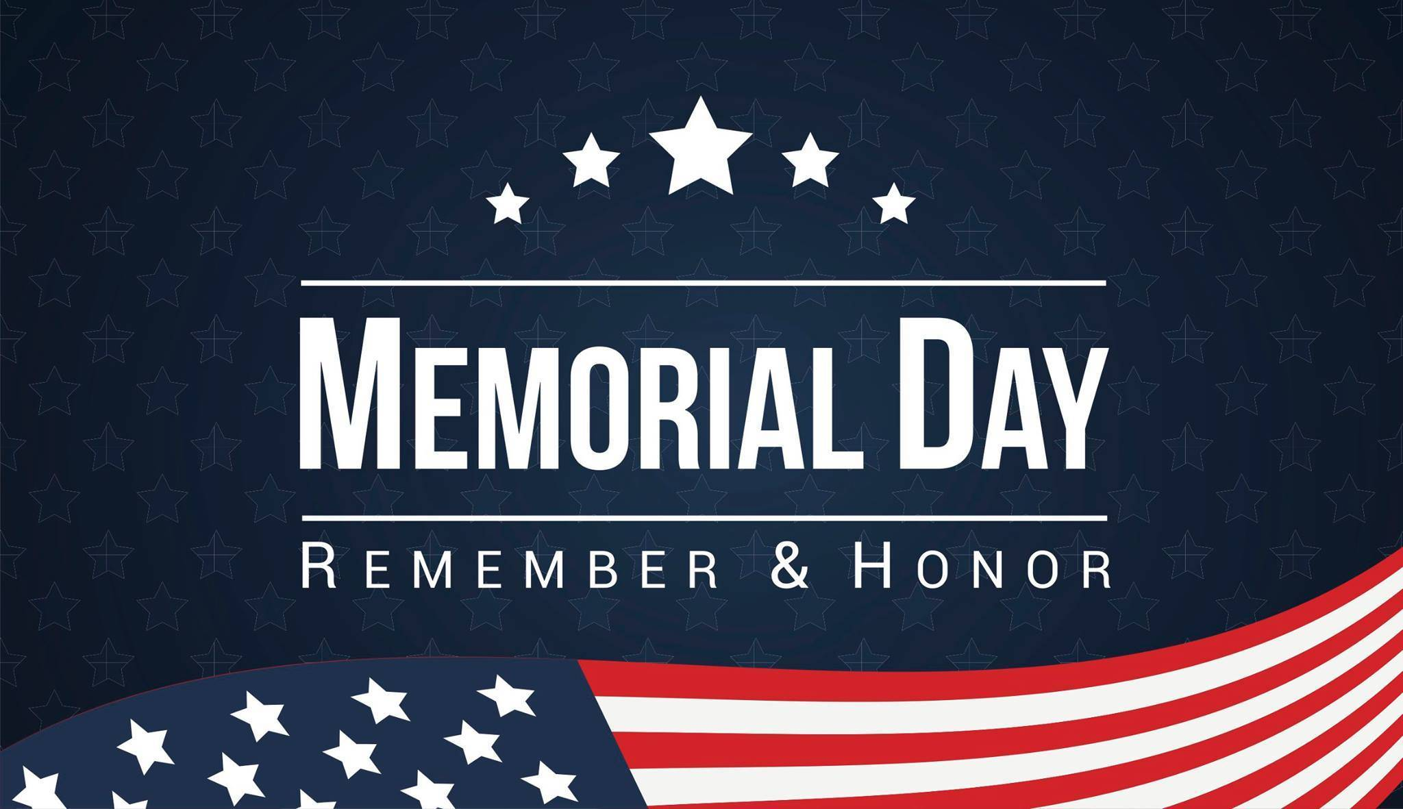 Memorial Day 2019 US Flag Images HD Wallpapers Photos CalendarBuzz 2048x1181