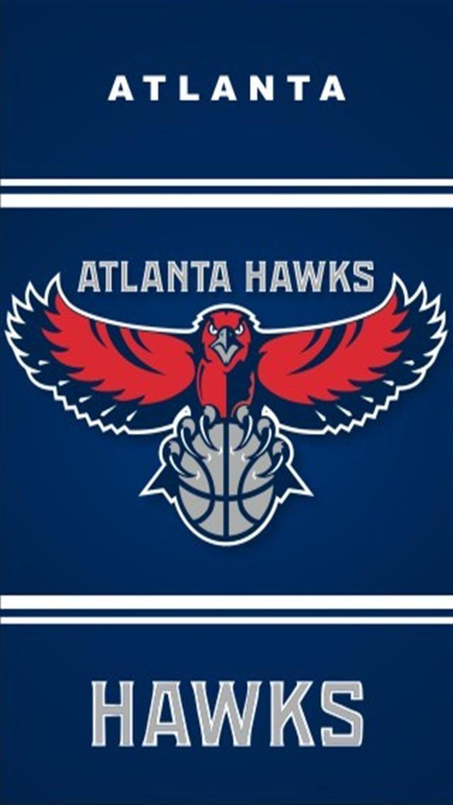 Download Atlanta Hawks Logo Iphone Wallpapers Iphone 5s4s3g