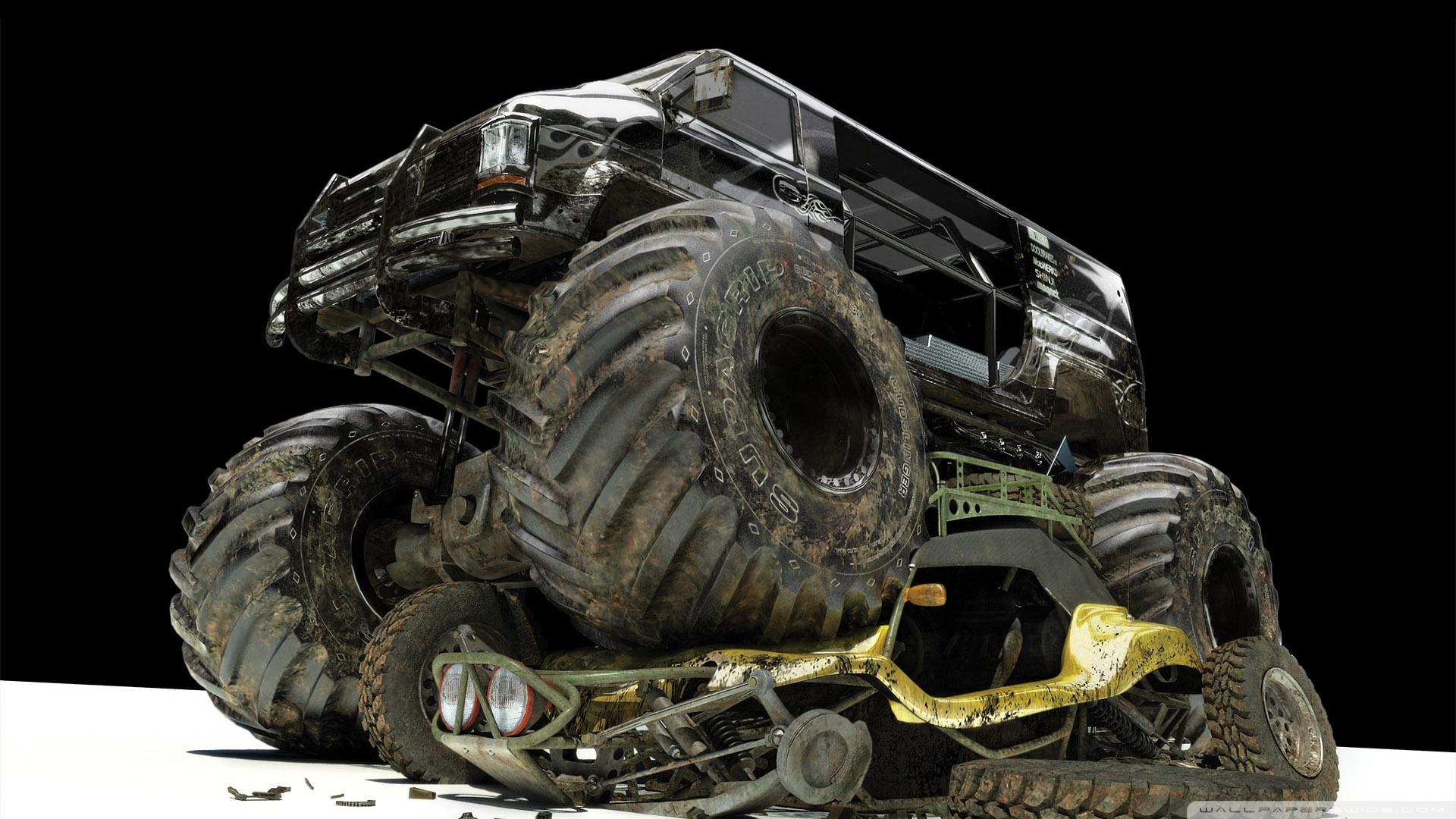 Monster Truck Desktop Wallpaper 1920x1080 pixel Automotive HD 1920x1080
