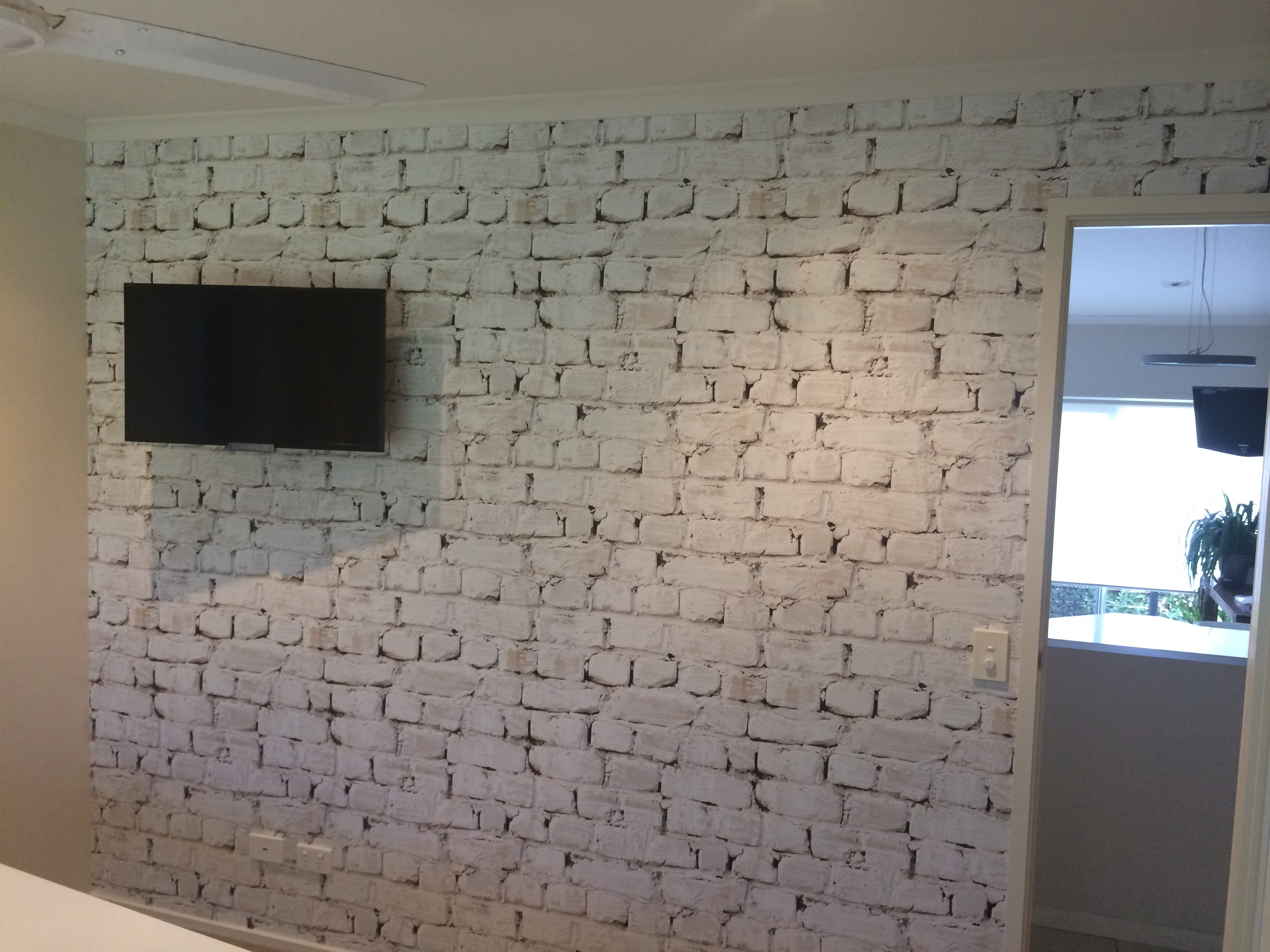 Brick Wallpaper Takes Wallcoverings To Another Level 3264x2448
