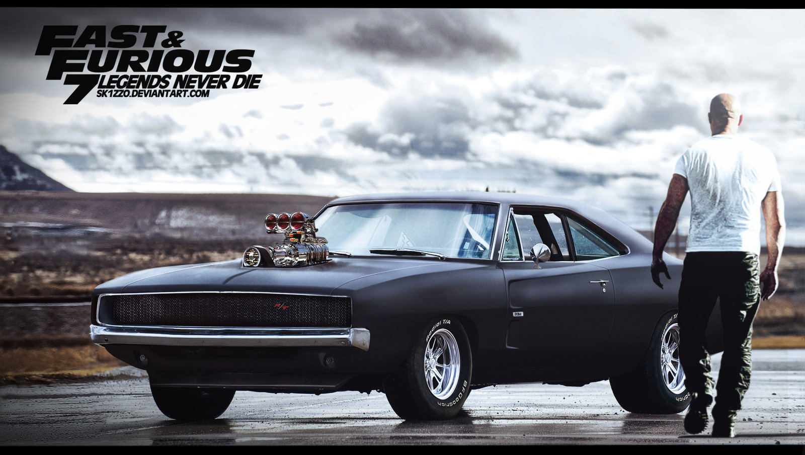 Fast And Furious 7 by Sk1zzo 1600x904
