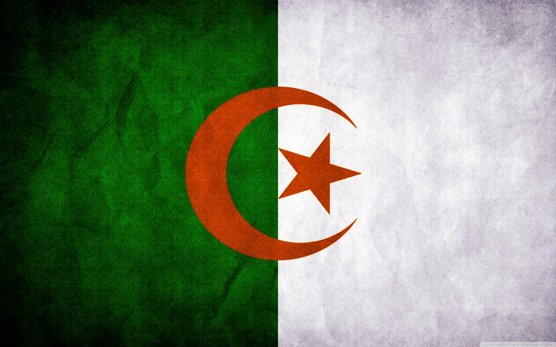 Algeria Flag 4K HD Desktop Wallpaper for 4K Ultra HD TV Dual 2880x1800