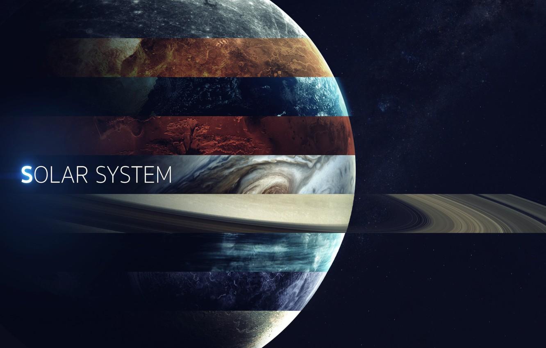Wallpaper Saturn Space Earth Planet Mars Jupiter Neptune 1332x850