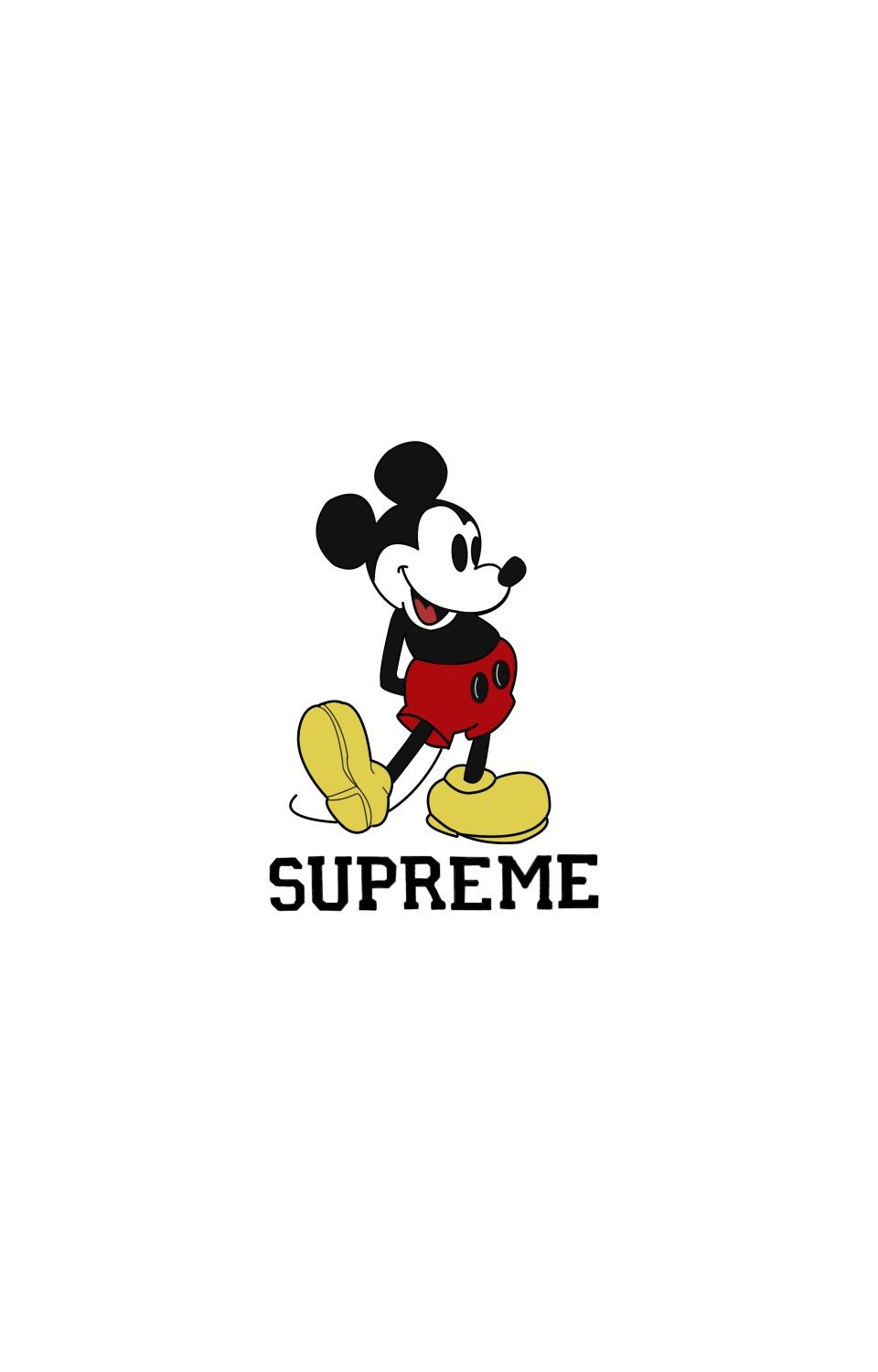 Pin by Bunchhath Heng on Wall Supreme wallpaper Mickey mouse 960x1500