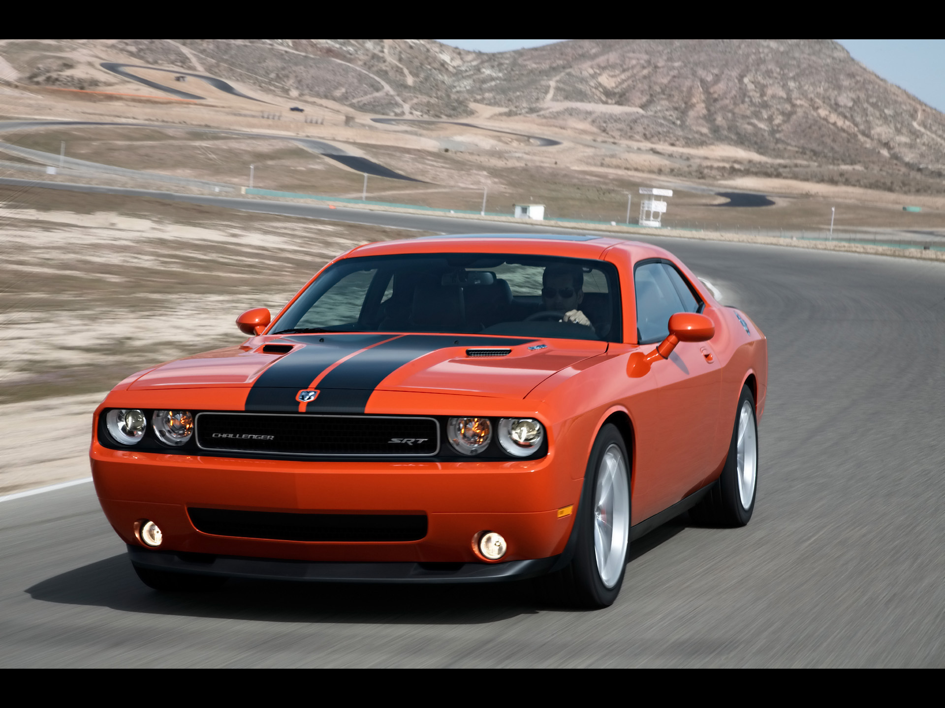 2010 Dodge Challenger SRT8   Front Angle Speed   1920x1440   Wallpaper 1920x1440