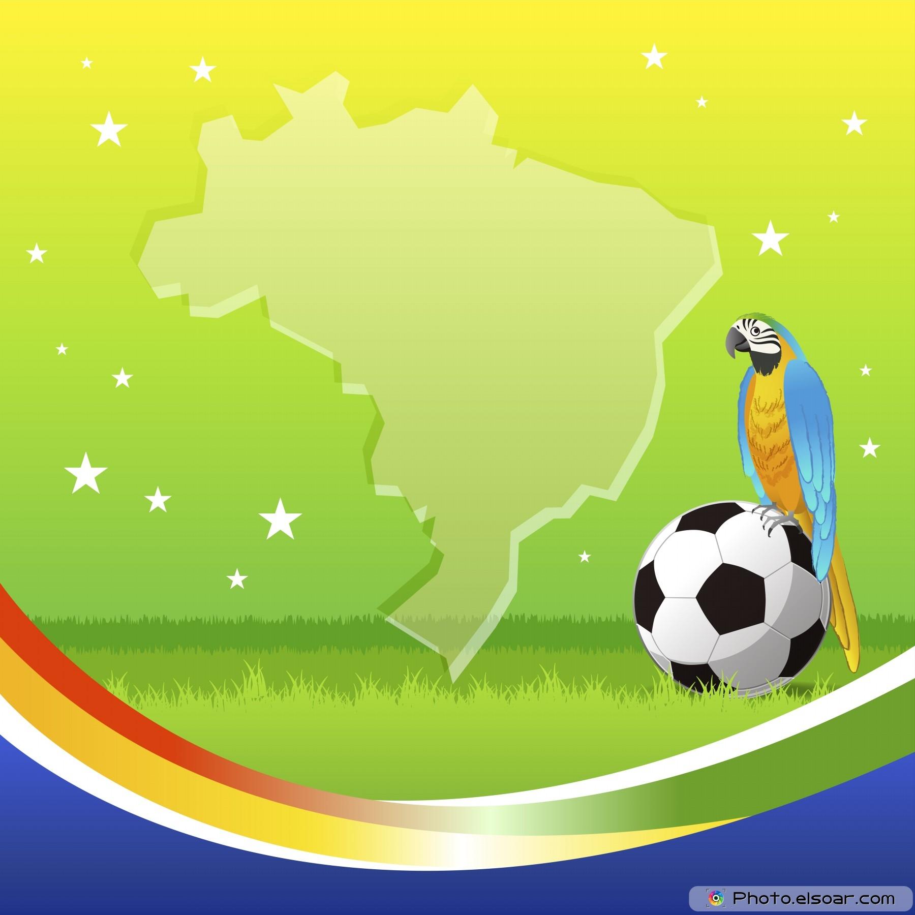 Brazil soccer background 1800x1800