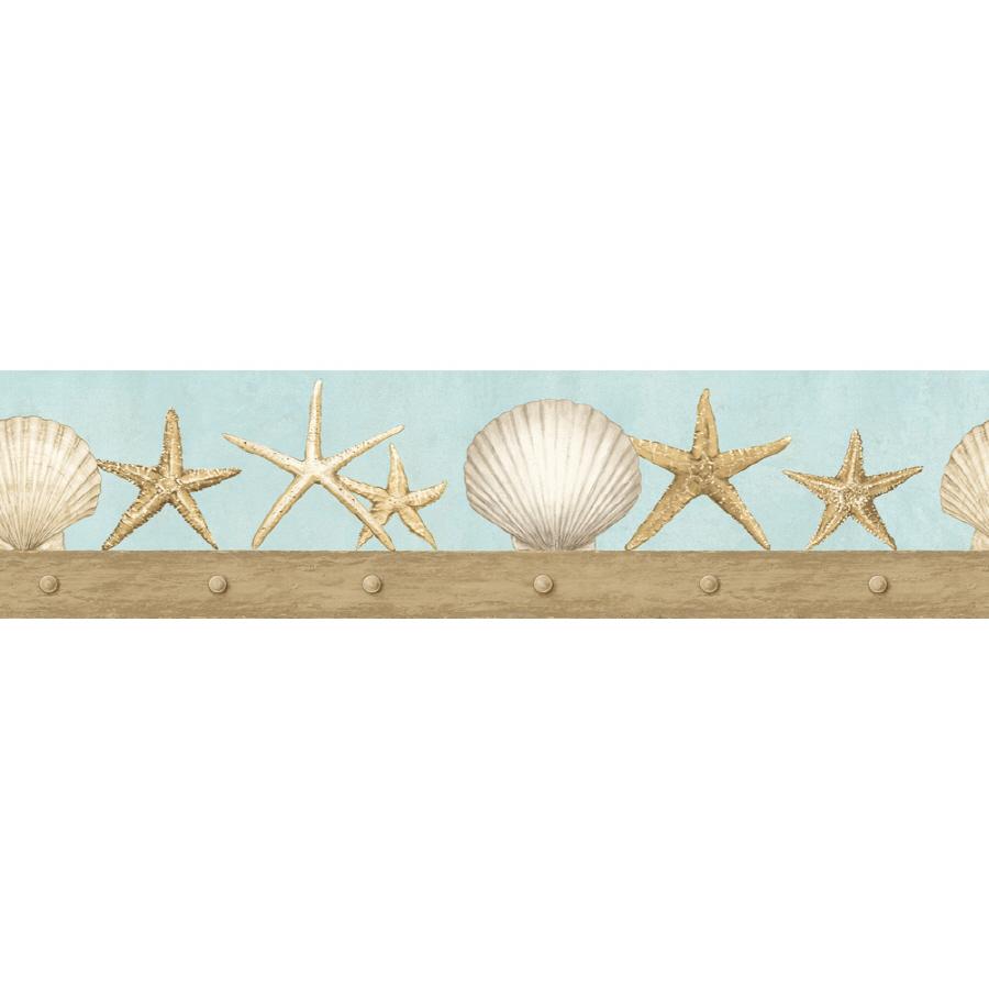 45 Wallpaper Borders Seashells Theme On Wallpapersafari