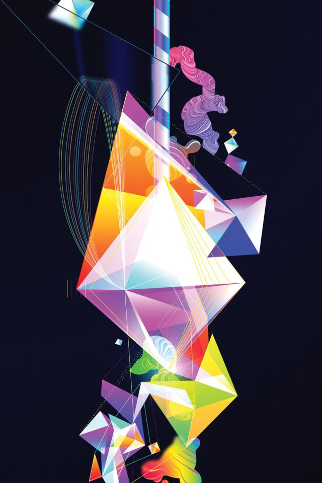 Wallpaper of the Week 112 by Oit8doi2 Abduzeedo Design Inspiration 640x960