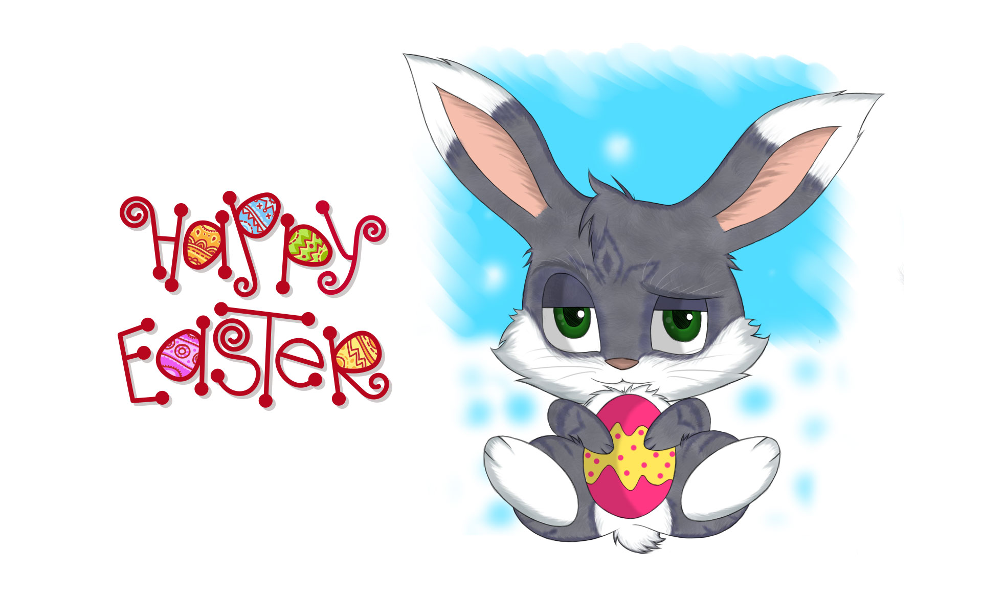 Happy Easter HD Wallpapers 9To5AnimationsCom 1920x1200