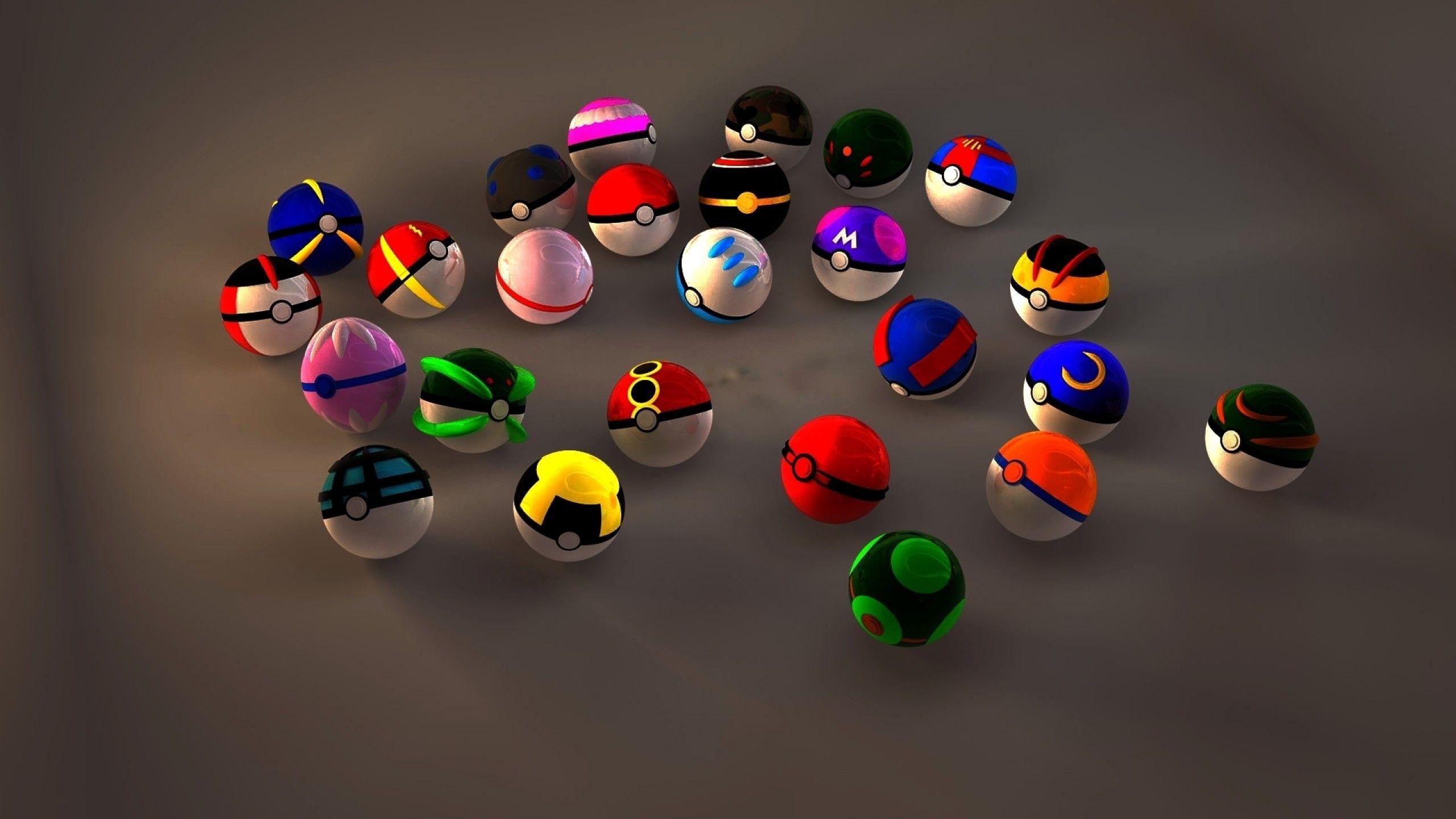 Pokmon Balls Wallpapers 2560x1440