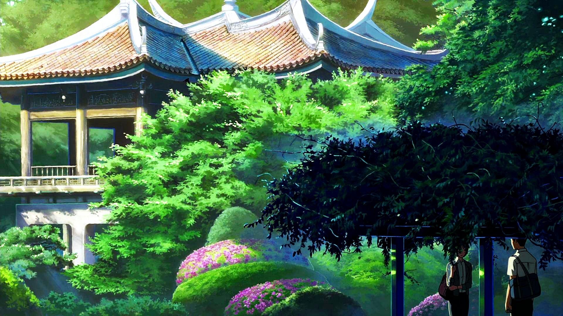Free Download Kotonoha No Niwa Landspaces The Garden Of Words