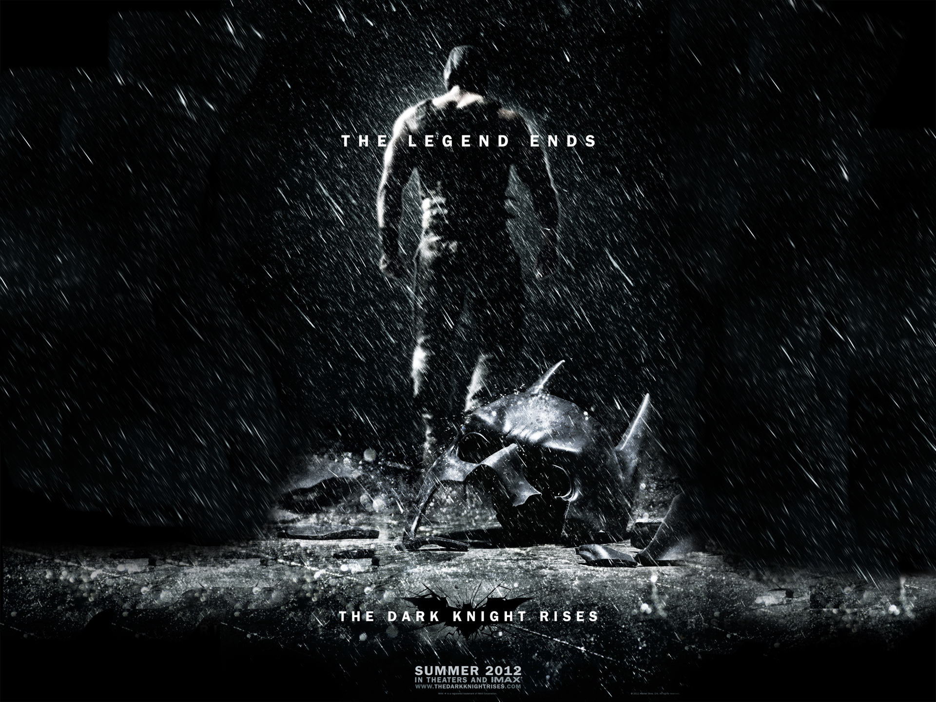 The Dark Knight Rises Two Exclusive wallpapers and the new poster 1920x1440