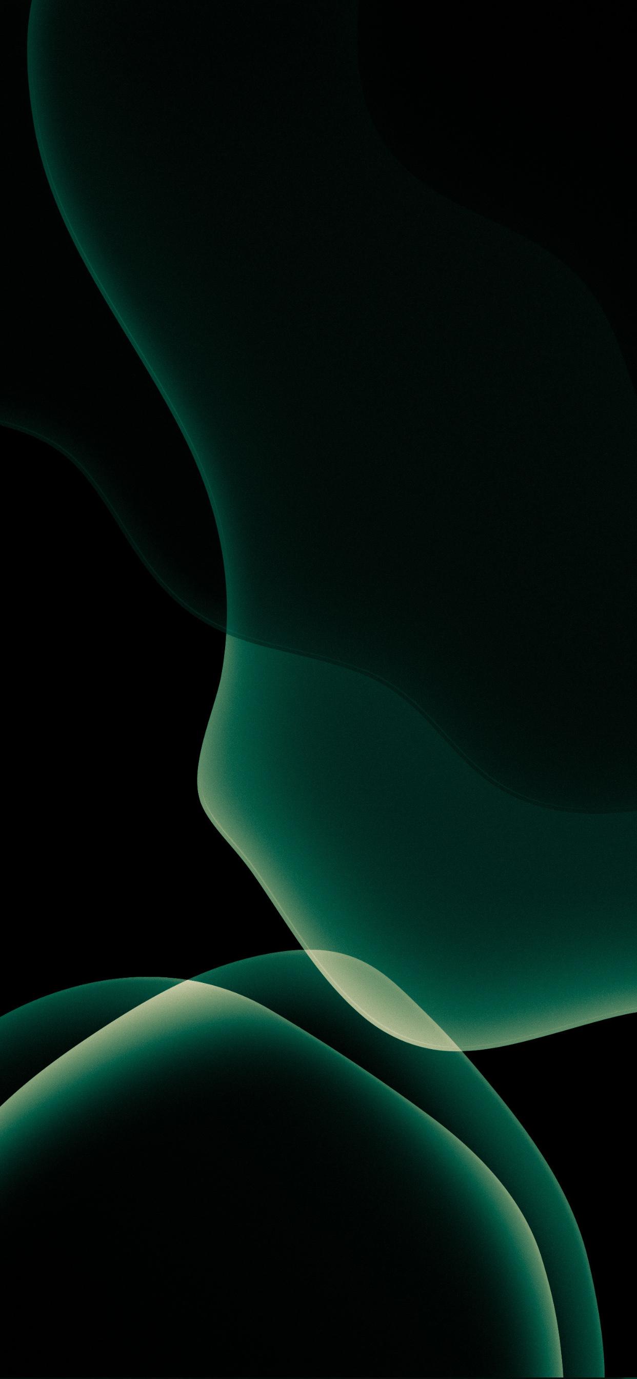Midnight Green wallpapers 1242x2688