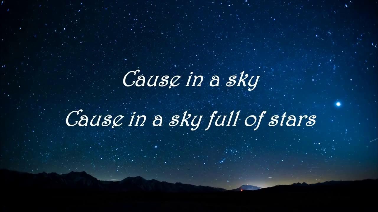 Free Download Coldplay A Sky Full Of Stars Feat Avicii Lyrics
