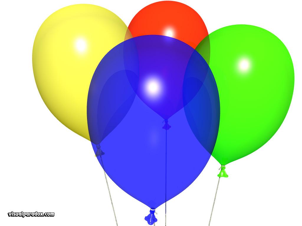 Balloon Wallpaper Birthday 1024x768