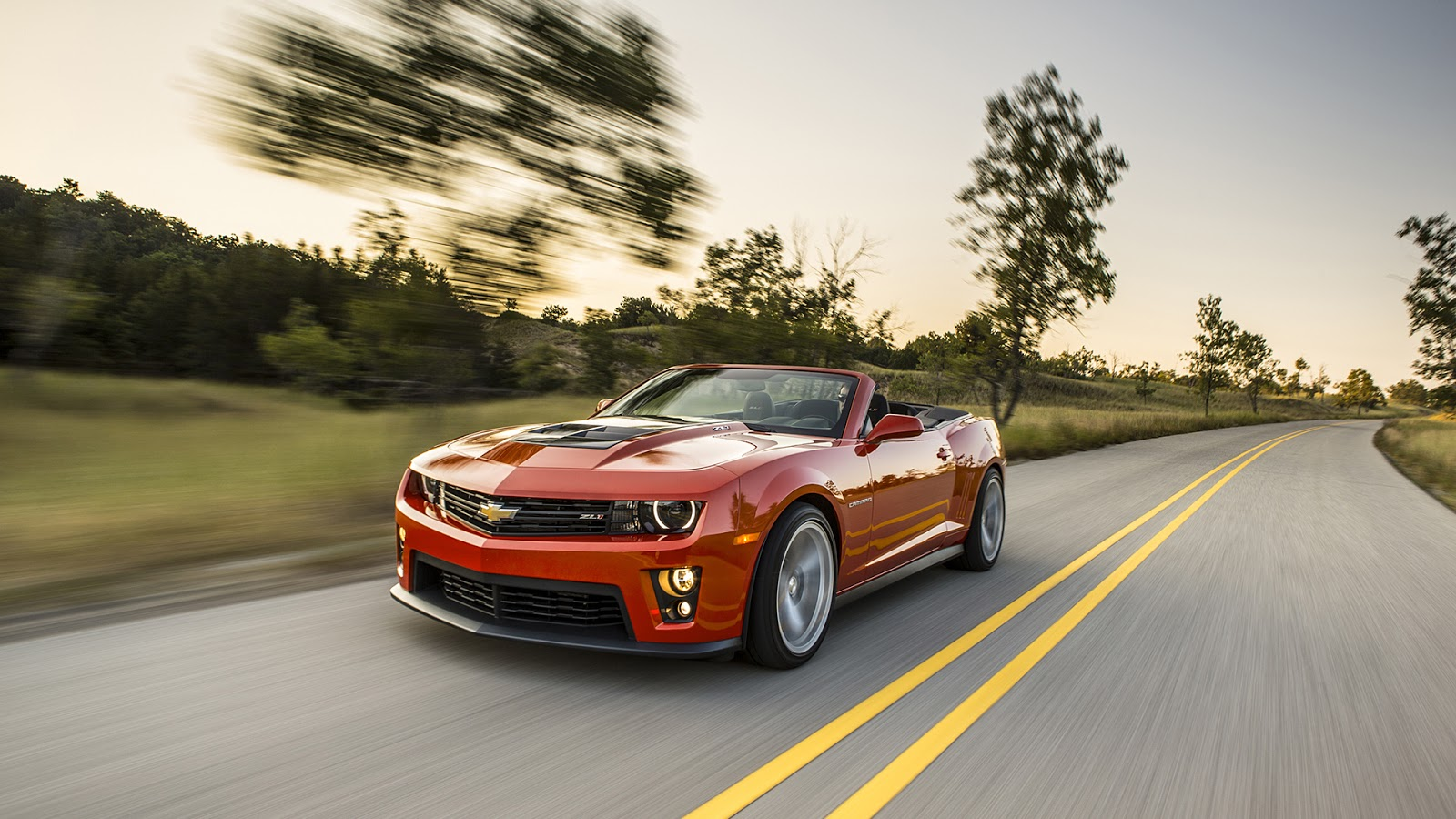 2013 Chevrolet Camaro ZL1 Convertible Wallpapers 1600x900