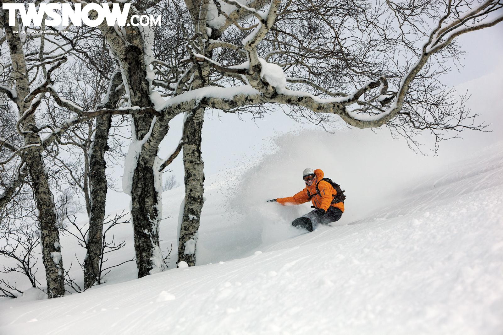 Wallpaper Wednesday Powder Surfing in Japan TransWorld SNOWboarding 1600x1067