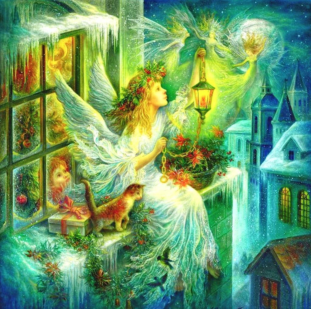 Beautiful Christmas Angel Wallpapers Daily Backgrounds in HD 1024x1017