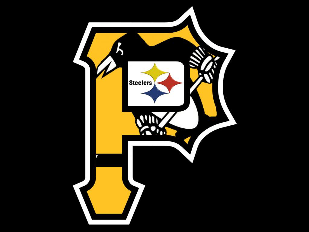 Free Download Thread Pittsburgh Pro Sports Tri Logo 1024x768 For