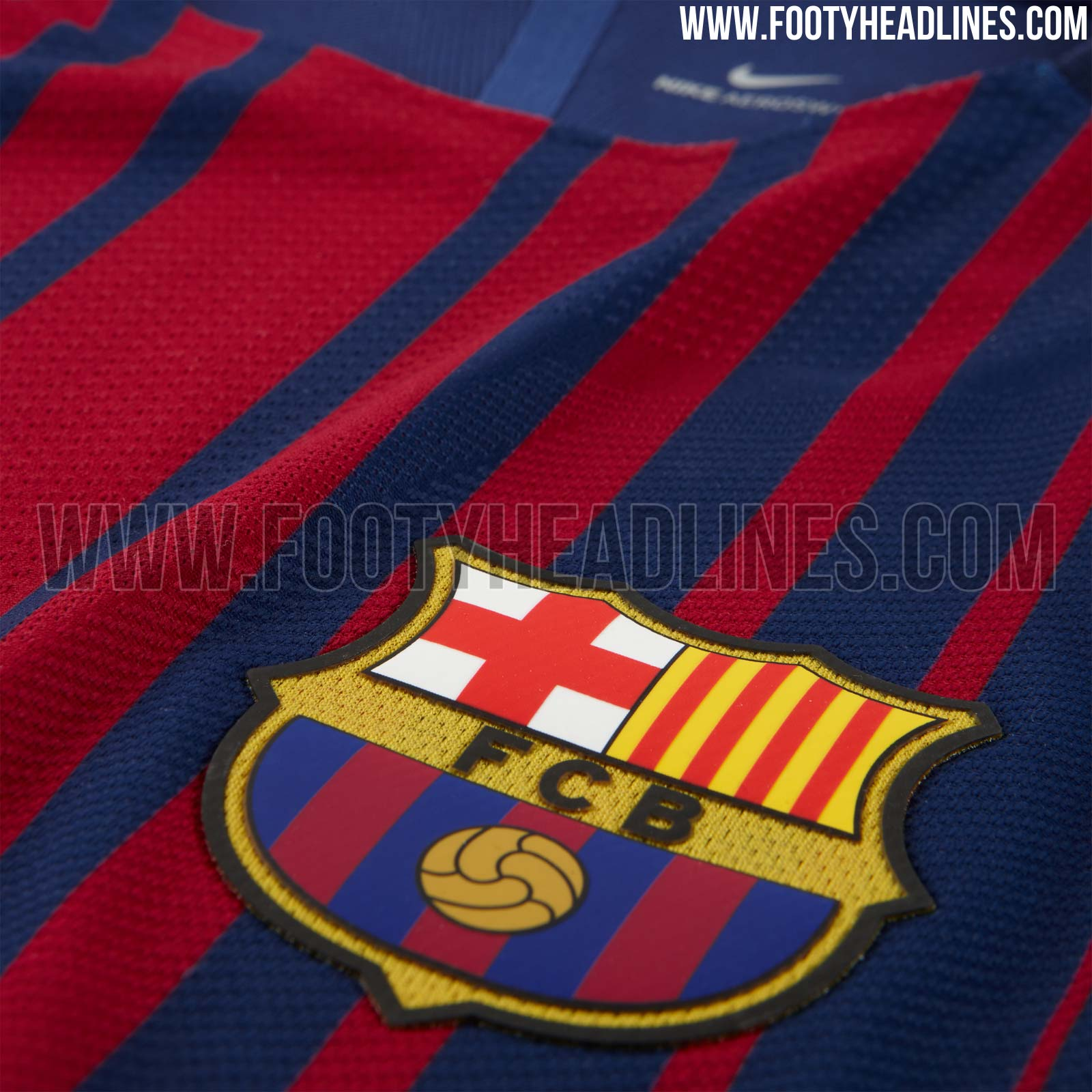 Barcelona 17 18 Home Kit Released   Footy Headlines 1600x1600