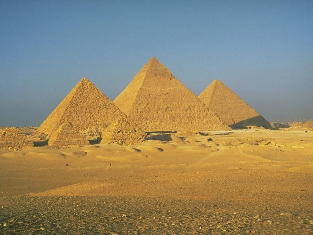Great Wallpaper The Pyramids Of Egypt Wallpaper World 1024x768