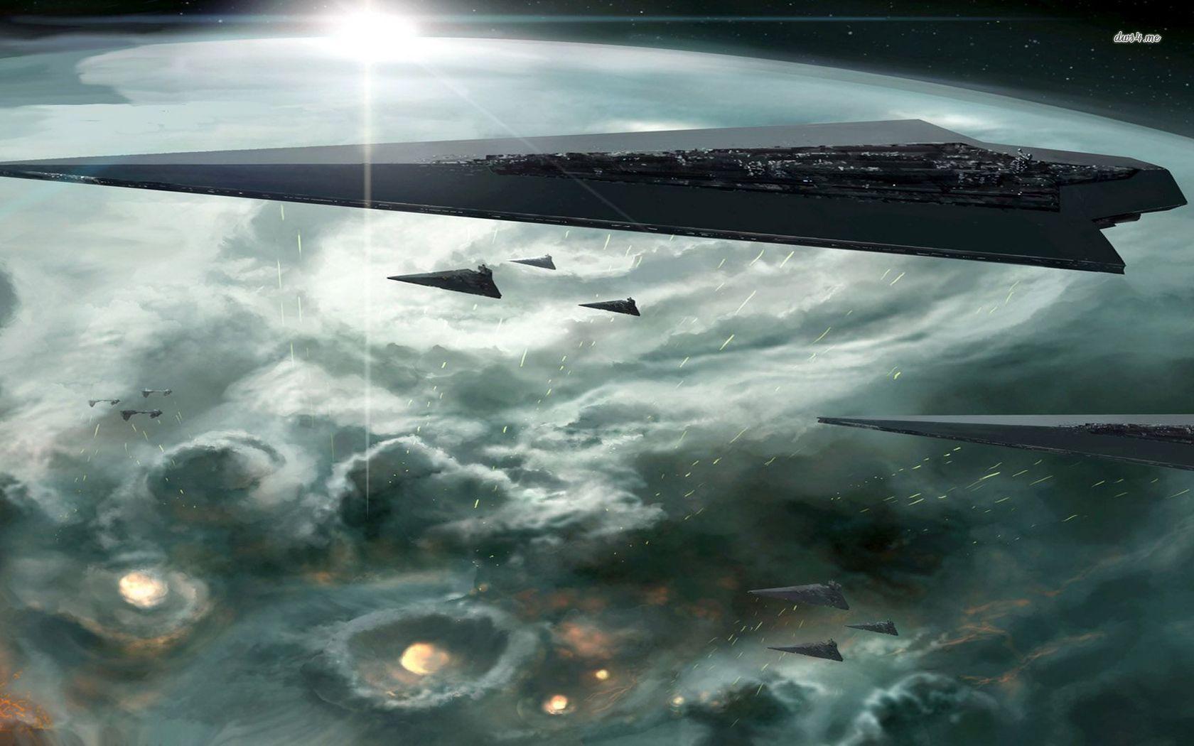 49 Star Wars Star Destroyer Wallpaper On Wallpapersafari