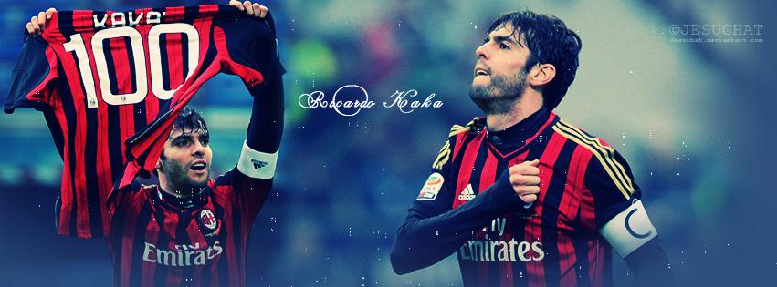 Ricardo Kaka 100 GOAL for AC Milan by Jesuchat 851x315