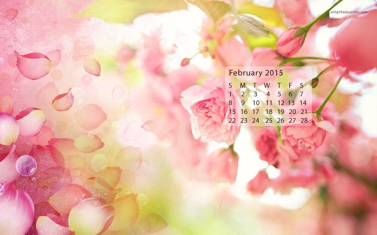 Desktop Wallpapers Calendar February 2015 1280x800