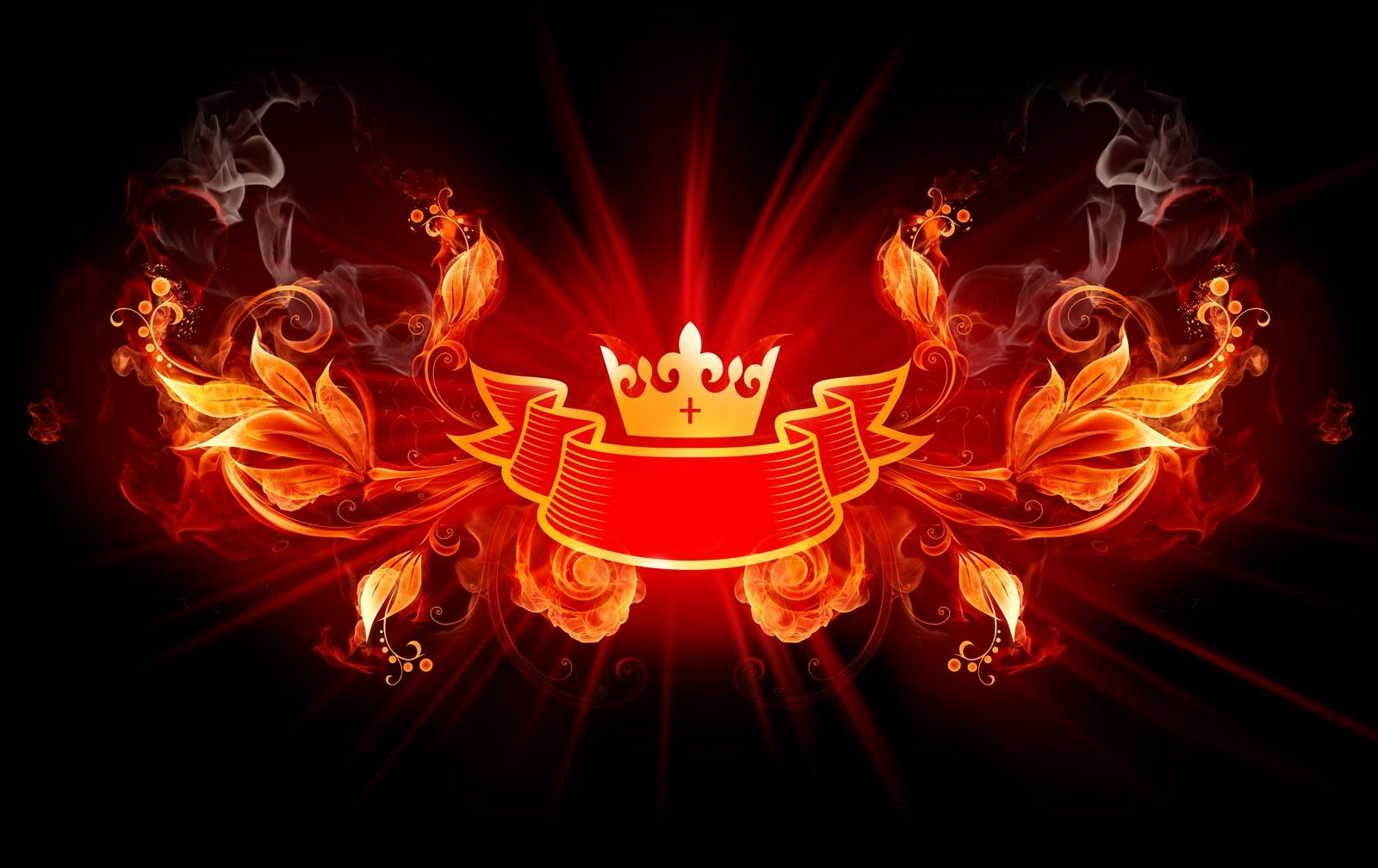 Fire Crown Wallpaper 1600x1008