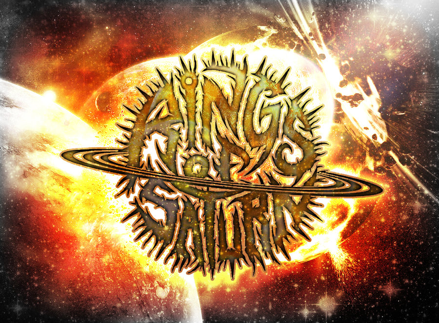 Rings Of Saturn Band Wallpaper