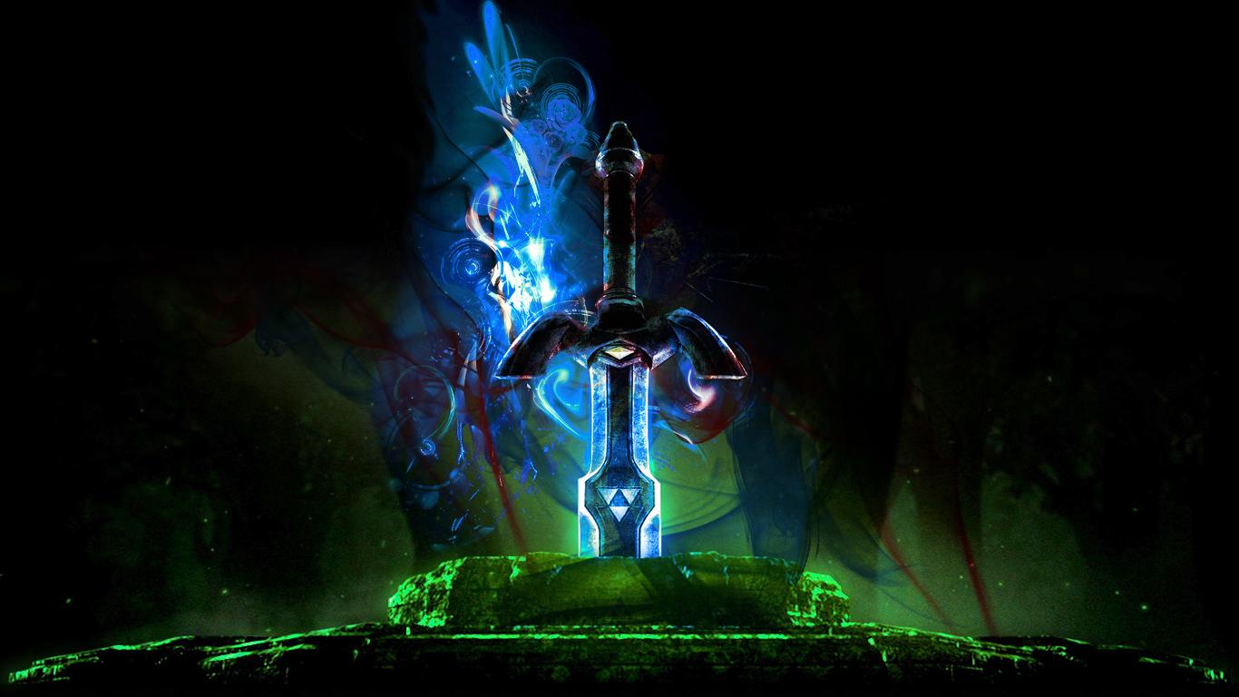 Master Sword Zelda Wallpaper images 1366x768