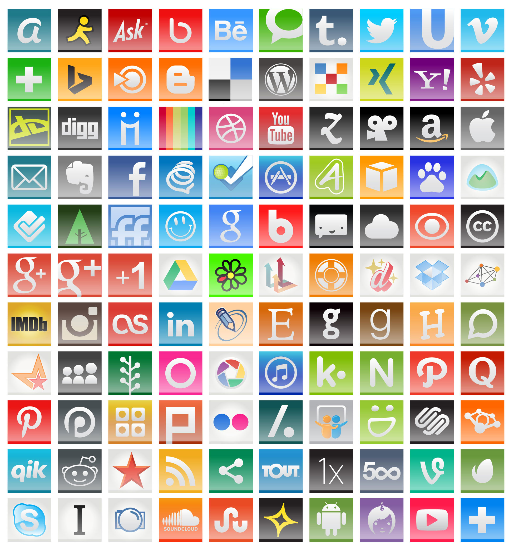 Social Media Logos Wallpaper For Gadget Handph 20474 Wallpaper 1952x2093