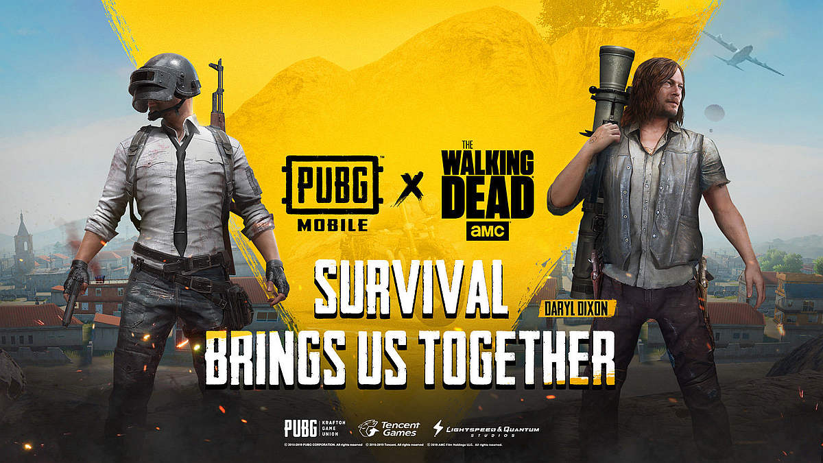 PUBG Mobile x The Walking Dead Crossover Now Out Brings Character 1200x675