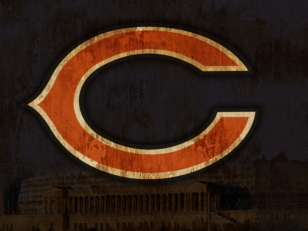 our wallpaper of the month Chicago Bears Chicago Bears wallpapers 1024x768