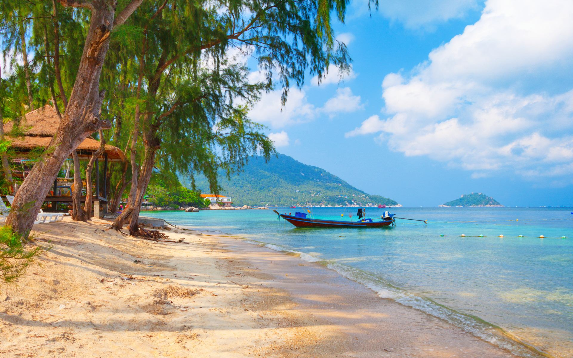 26 Thailand Beach Koh Tao Beach Wallpaper 421 Thailand 1920x1200