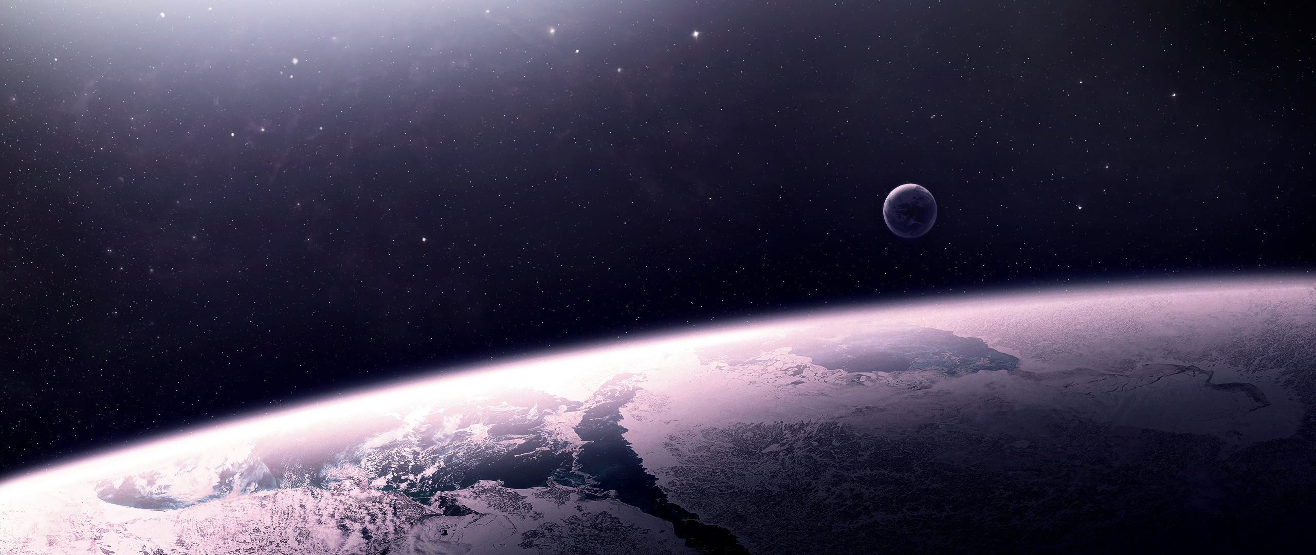 Download Wallpaper 2560x1080 star relief planet space 2560x1080 21 2560x1080