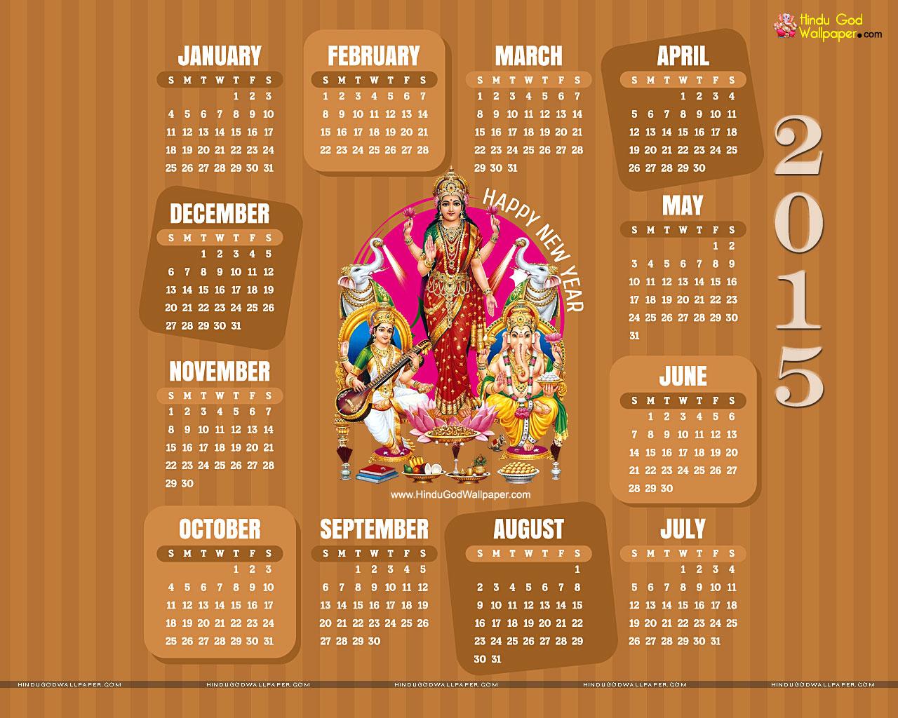 2015 Year Calendar Wallpaper Download 2015 Calendar by Month 1280x1024