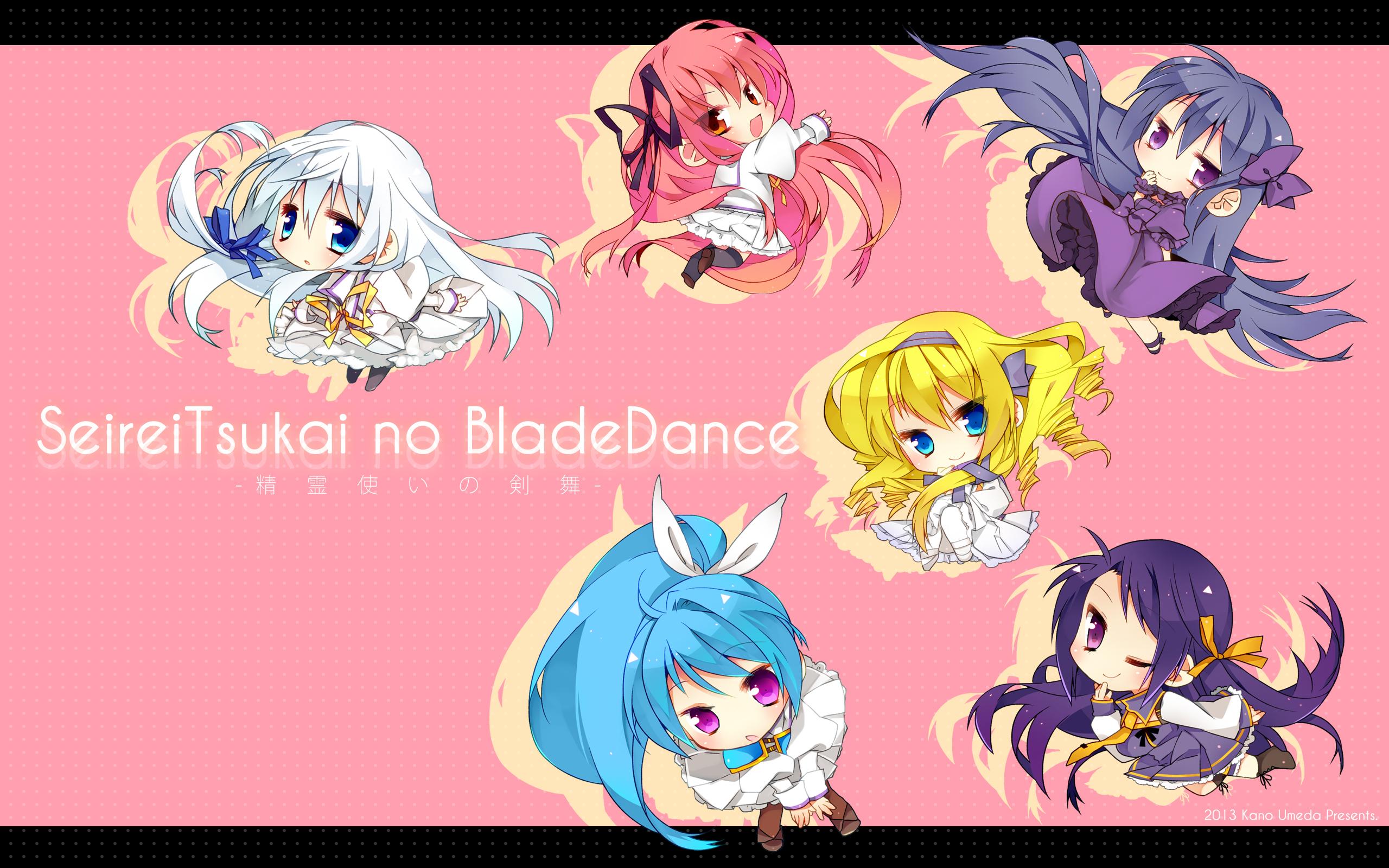 blade dance chibi restia sakura hanpen seifuku terminus est wallpaper 2560x1600
