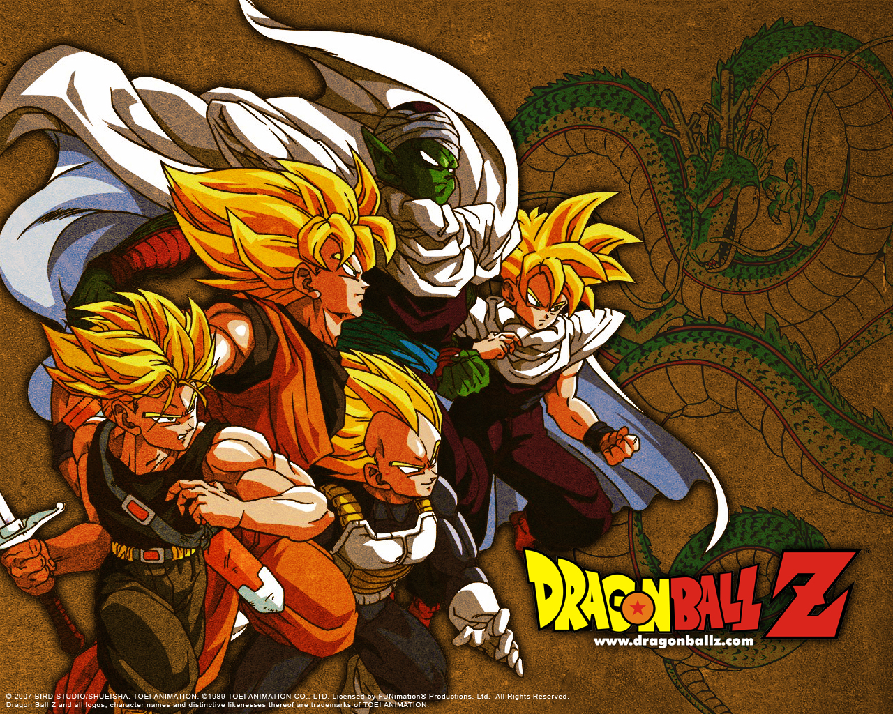 El Mundo de Dragon Ball 1280x1024