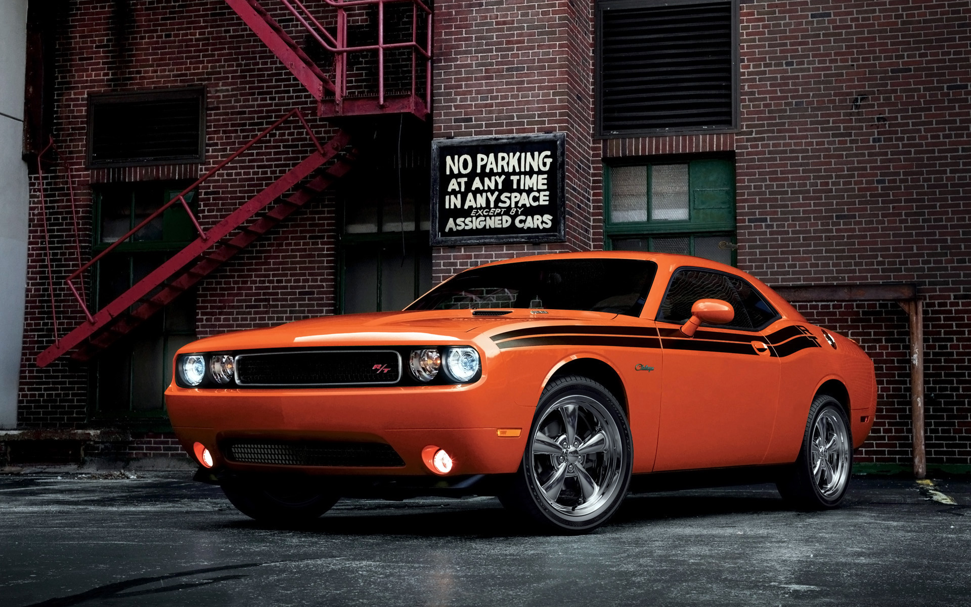 2014 Dodge Challenger RT Classic Wallpapers HD Wallpapers 1920x1200
