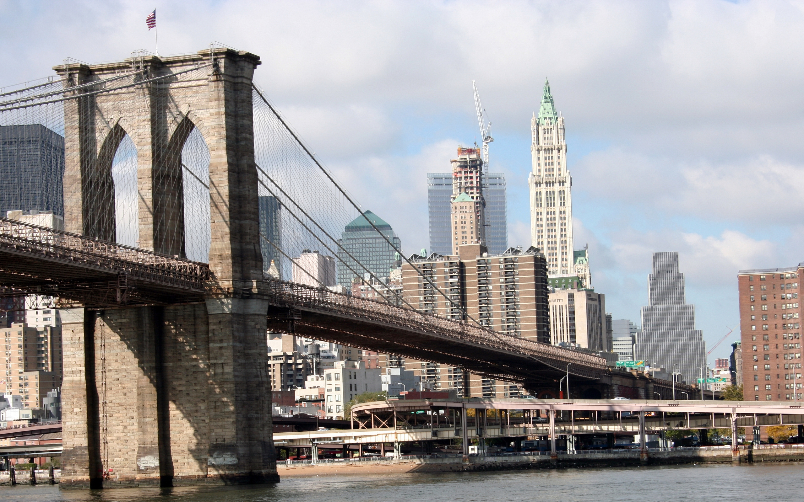 Brooklyn Bridge Background Free Download | HD Wallpapers ...