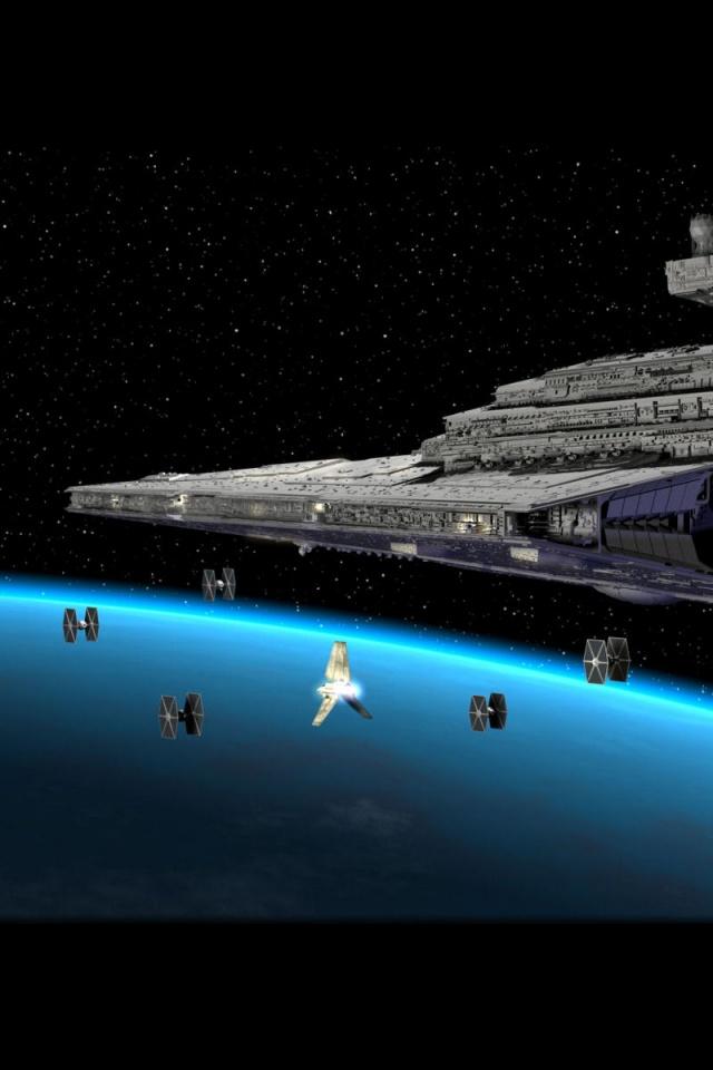 Star Wars iPhone Wallpaper 640x960