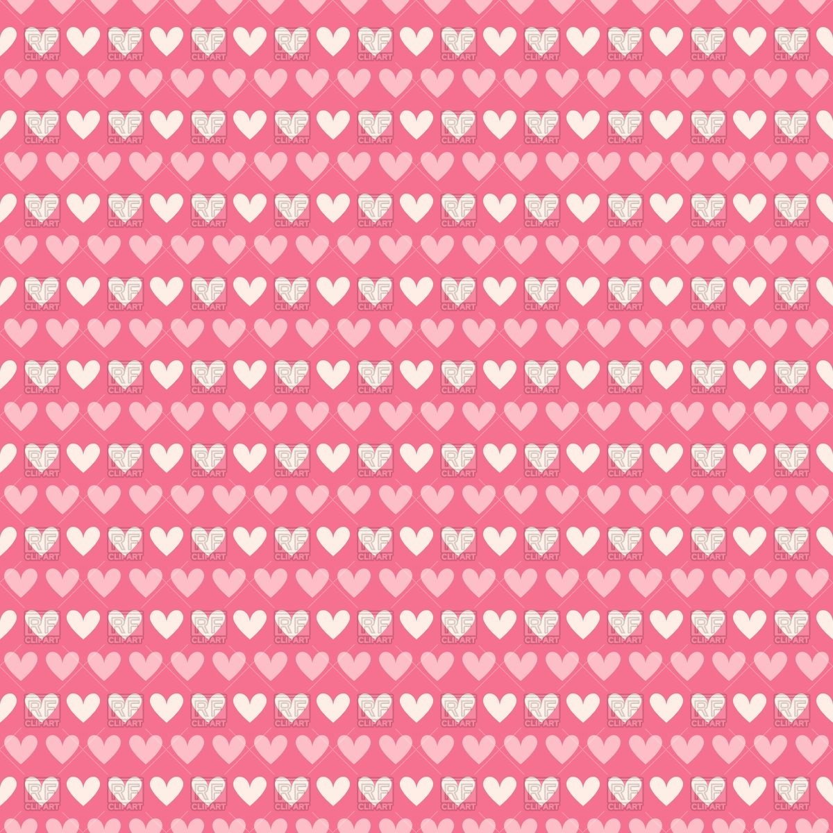 Cute seamless Valentines day background with pink and white 1200x1200