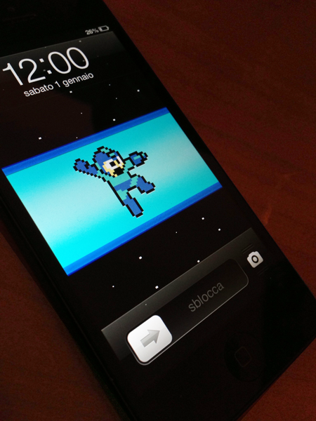 Creative Iphone Lock Screen Wallpapers Megaman iphone 5 lock screen 450x600