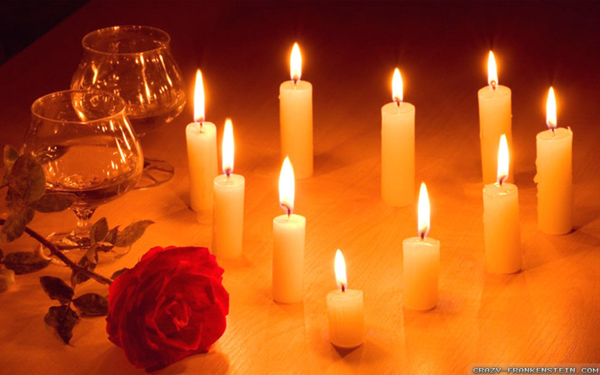 magical romantic candles wallpapers 1920x1200 BlogDailyHerald 1920x1200