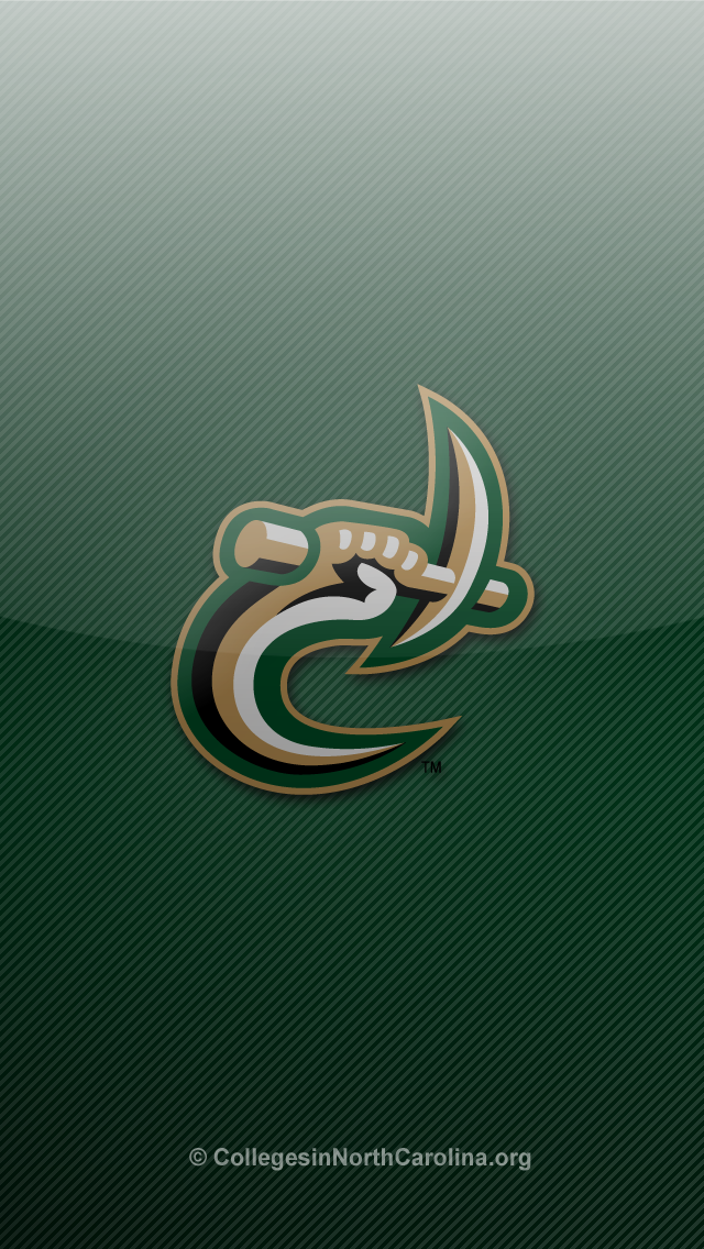 thumbs unc charlotte 49ers iphone 5 wallpaper 2 UNC Charlotte 49ers 640x1136
