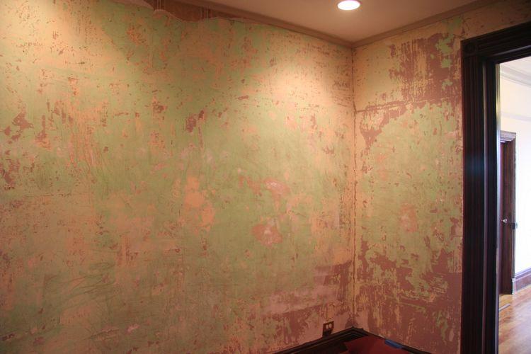 Plaster Wall Skim Coating Before 750x500